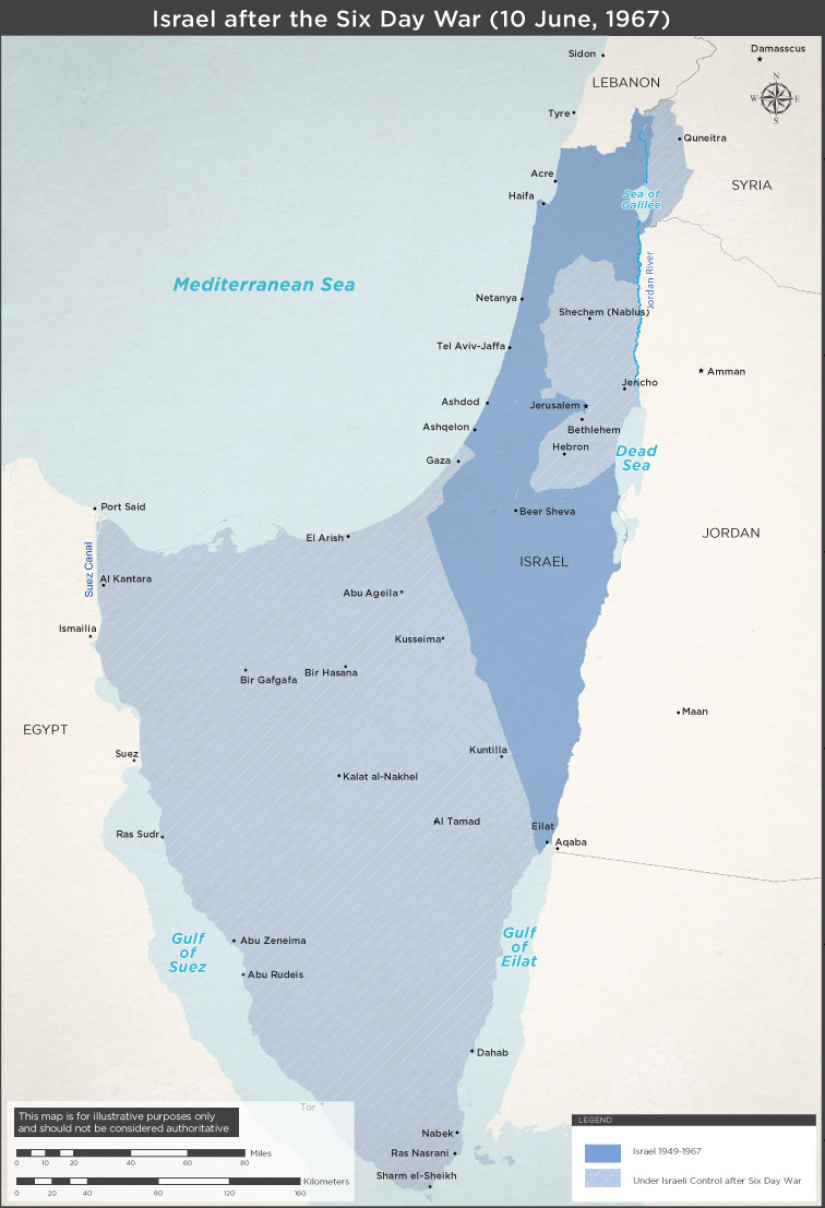 Israel-after-Six-Day-War